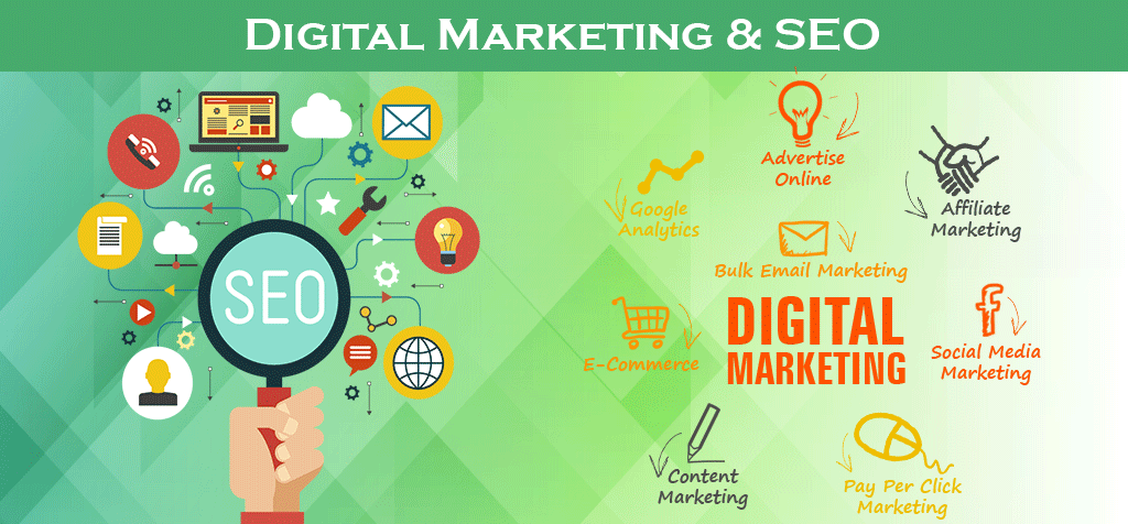 SEO and Digital Marketing By Seecoding Technologies
